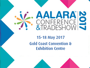 AALARA 2017 TRADESHOW, high ropes, climbing wall, obstacle course