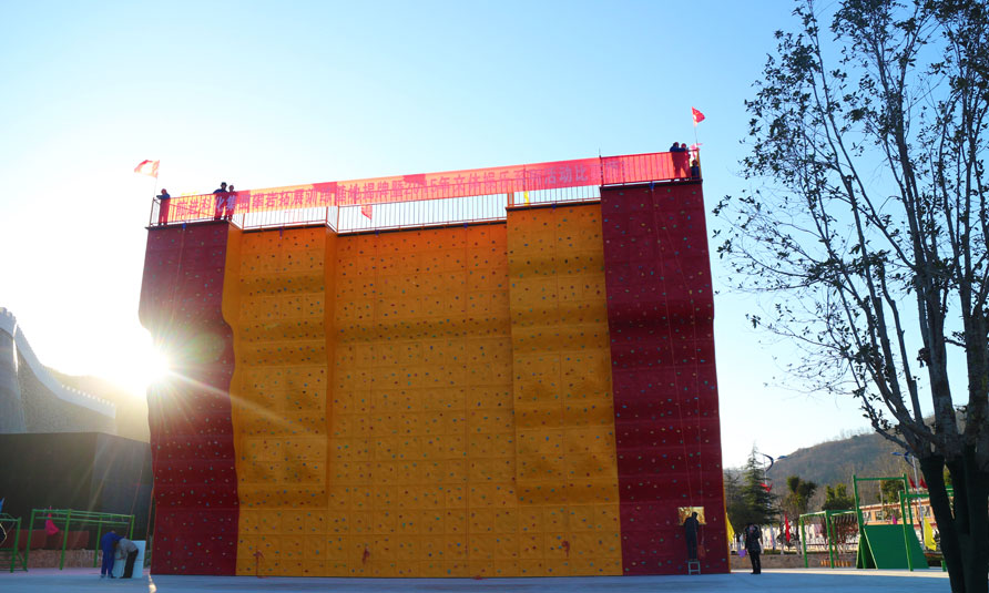 Outdoor Rock Climbing Wall & JP Climb Outdoor Climbing Wall  in Luoyang