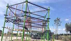 adventure park, high ropes, ropes adventure, build ropes course